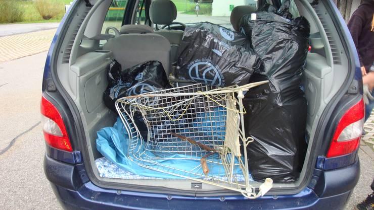 Einkaufswagen – Humor ist, wenn man trotzdem lacht ... (Bild zvg.)