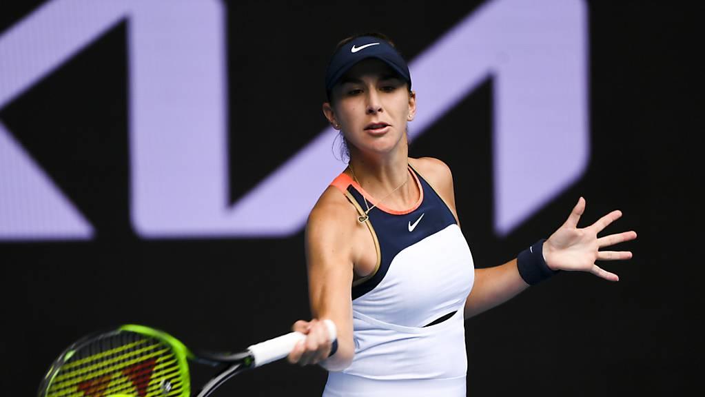 Belinda Bencic muss in Dubai die Koffer packen.