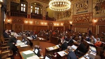 Die Sitzung des Grossen Rats am Mittwoch dürfte spannend werden. (Archiv)