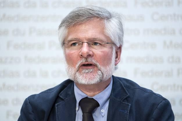 Rudolf Hauri,Präsident des Verbandes der Kantonsärztinnen und Kantonsärzte.