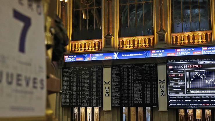 Chinas Börse verunsichert die Märkte weltweit (Archivbild).
