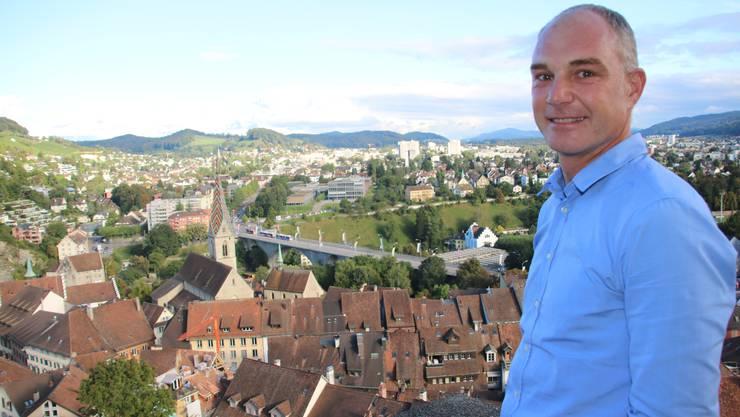 Marco Kaufmann setzt sich für Fusionen in der Region Baden ein. «In Aarau ist der Wille für eine Grossstadt deutlich stärker.»