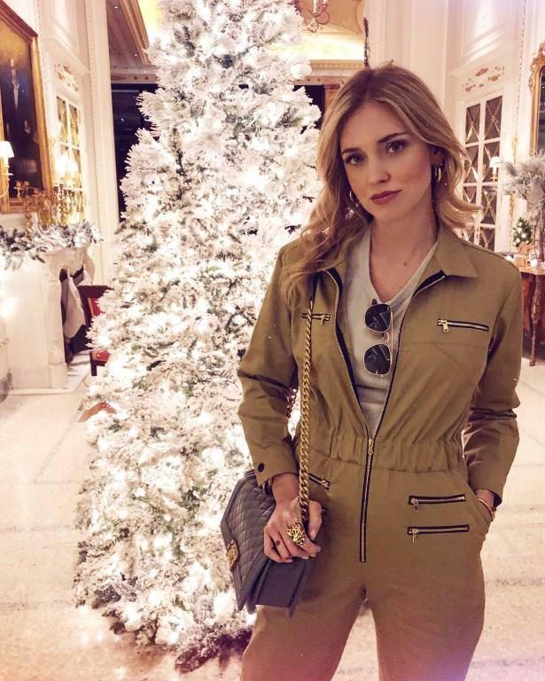 «Top Gun», schreibt Star-Bloggerin Chiara Ferragni zu diesem Instagram-Bild.