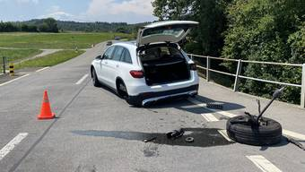 Unfall in Dottikon