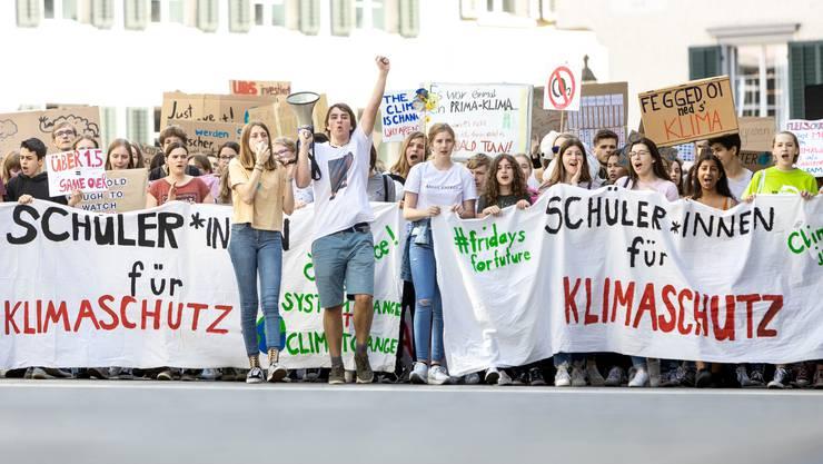 Klimastreik in Baden: Das war am 24. Mai 2019.