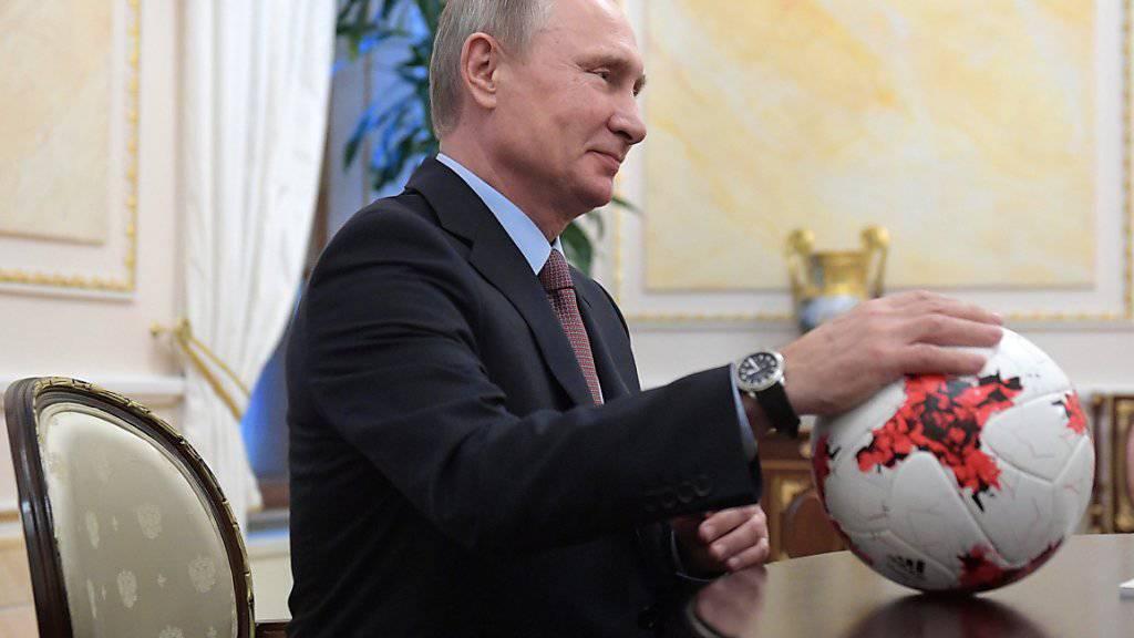 Wladimir Putin ist selbst mit 64 noch ein leidenschaftlicher Aktiv-Sportler
