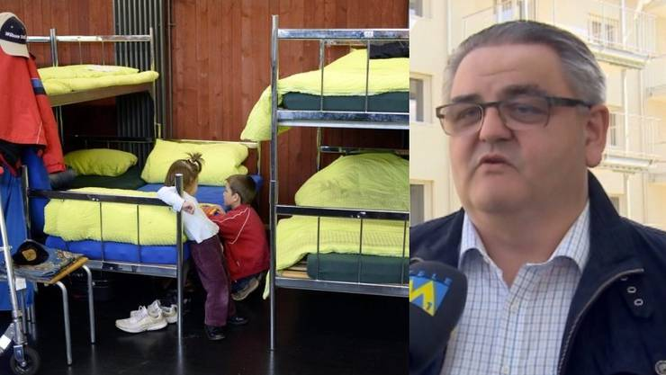 Aarburgs Ammann Schär wehrt sich gegen Asylbewerber.