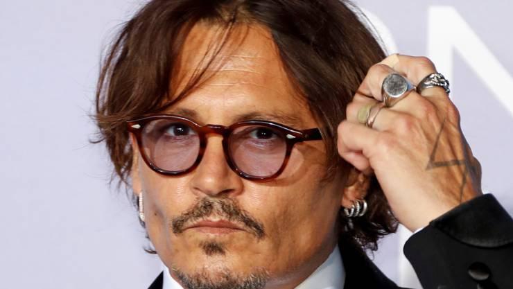 """Der """"Fluch der Karibik""""-Star Johnny Depp übernimmt die Hauptrolle im Sozialdrama """"Minamata"""", das in der Oscar-Saison 2021 in die Kinos kommen soll. (Archivbild)"""