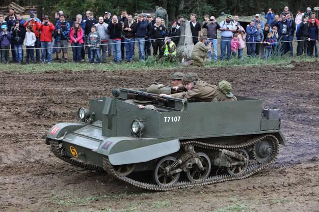 Dieser britische Bren-Gun-Carrier stammt aus dem Jahr 1941.