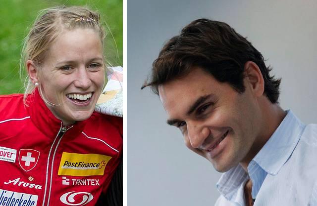Die Basler Sportler des Jahres: Ines Brodmann und Roger Federer
