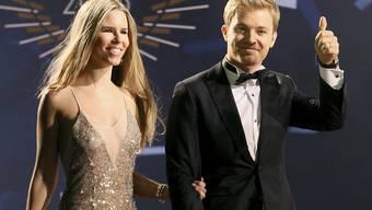 Der zurückgetretene Rennfahrer Nico Rosberg und seine Frau Vivian Sibold erwarten ein zweites Kind. (Archivbild)