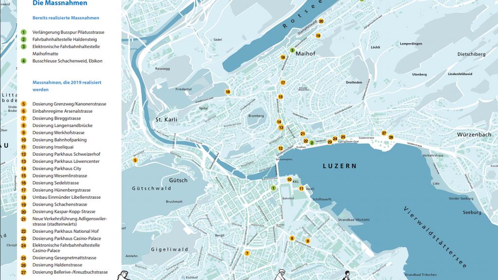 Gesamtverkehrskonzept der Stadt Luzern