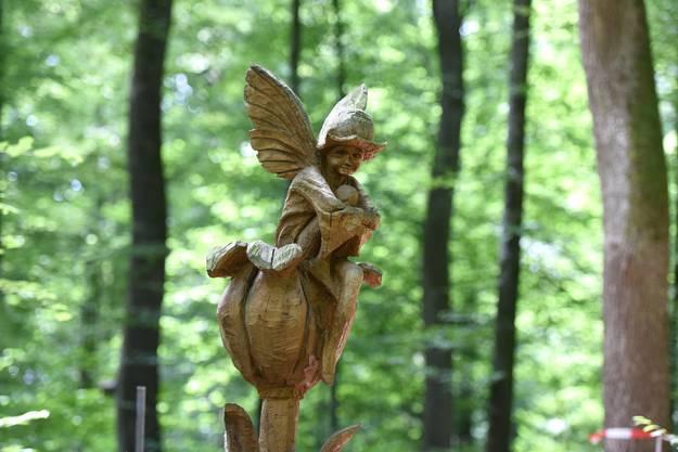 Die Blumenelfe von Künstler Christof Burkhardt stammt aus dem Märchen Flower Fairie
