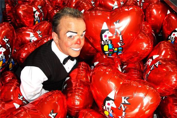 Der Zirkus war sein Leben: Clown Spidi.