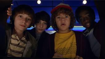 In den 80ern gabs so einiges zu bestaunen: Die Kids von «Stranger Things». Netflix