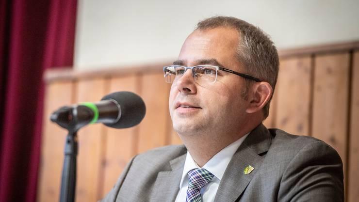 Der Thurgauer SVP-Regierungsrat Urs Martin.