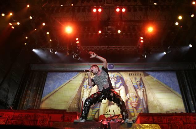 Auch die Alt-Rocker Iron Maiden kommen nach Basel