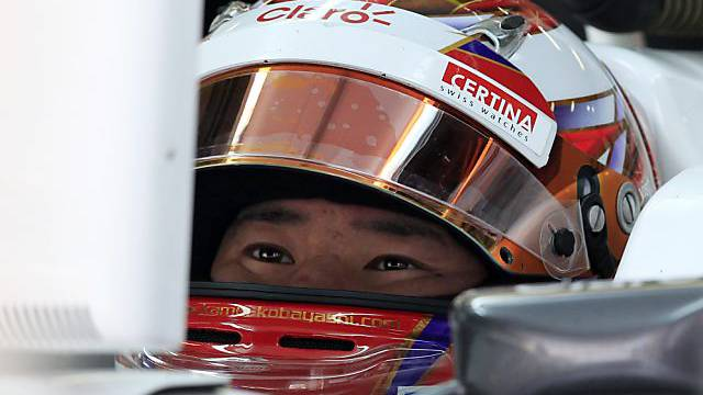 Glanzvolle Qualifying-Leistung: Kamui Kobayashi