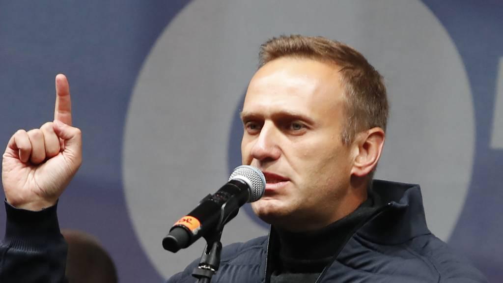 Nawalny erhebt schwere Vorwürfe gegen die Bundesanwaltschaft