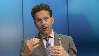 Der bisherige Eurogruppenchef Jeroen Dijsselbloem wurde am am Montag für eine weitere Amtszeit gewählt.