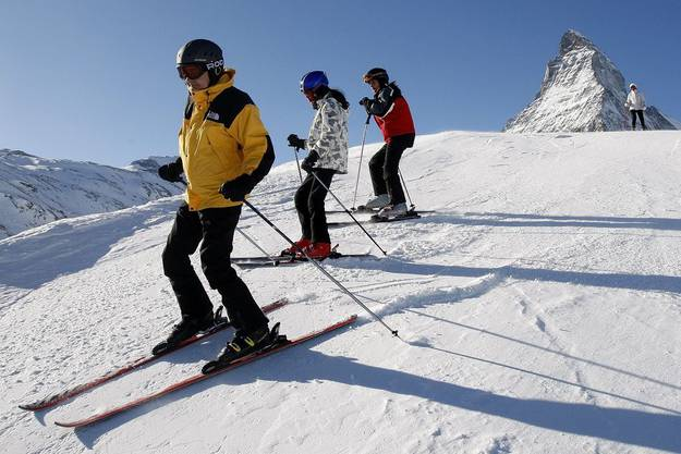 Herrlich abwechslungsreiche Pisten zeichnen das Skigebiet aus.
