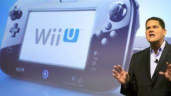 Stunde der Wahrheit: Der Amerika-Chef von Nintendo, Reggie Fils-Aime, präsentiert die Wii U (Archiv)