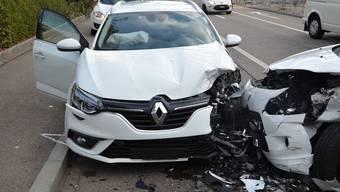 Verkehrsunfall in Reinach BL, 31. Oktober 2018