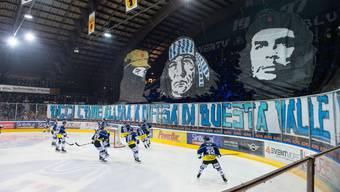 «Damals wie heute verteidigen wir dieses Tal»: Die Ambri-Fans bringen zum Ausdruck, was den Tessiner Eishockey-Kosmos beschäftigt – die Vorherrschaft.