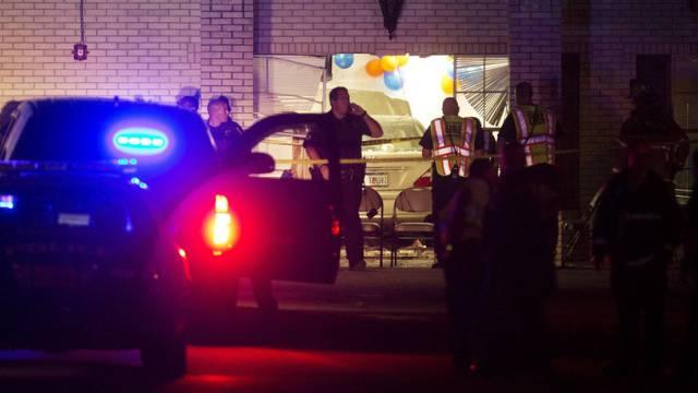 Beim Unfall wurden Kirchenbesucher verletzt