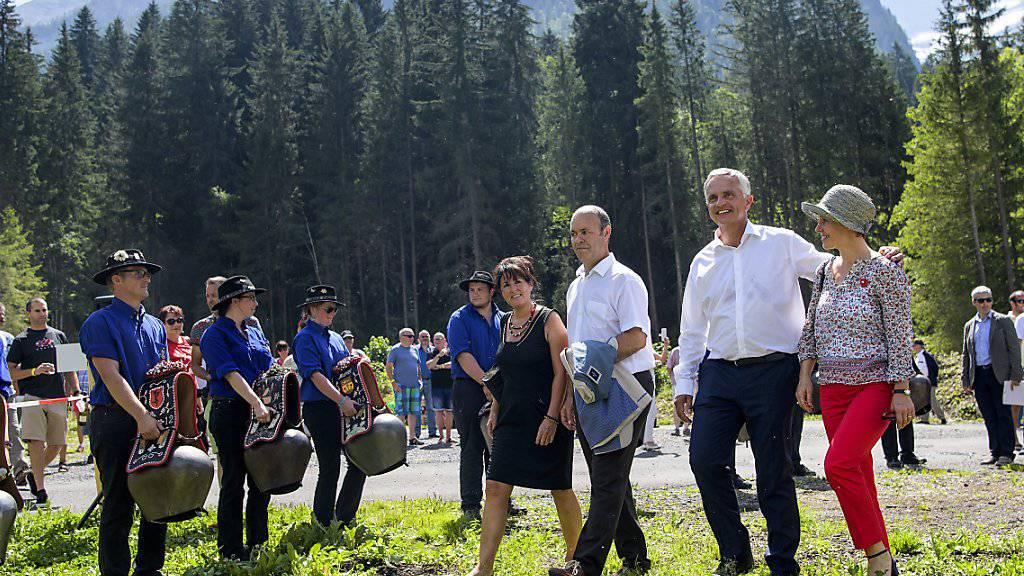 Hatte seinen letzten 1.-August-Auftritt als Bundesrat und wies auf das Privileg hin, in der Schweiz zu leben: Didier Burkhalter.