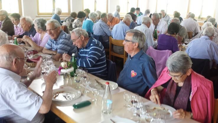 Mittagessen im Hotel Kurhaus Heiligkreuz