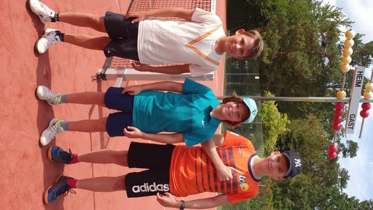 U15-Team des Tennisclubs Rheinfelden