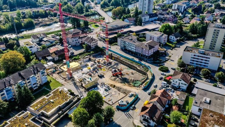 Biberist wächst weiter. Im Dorfzentrum entstehen neue Wohnungen. Platz für neue Einwohner und künftige Steuerzahler.