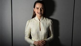 Die britische Schauspielerin Daisy Ridley (25) ist als Rey im «Star Wars»-Universum unterwegs.