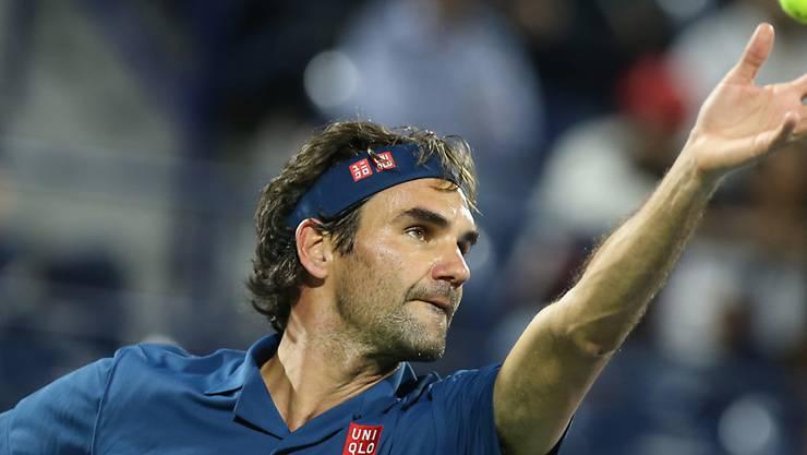 Roger Federer schafft es in Dubai in die Halbfinals