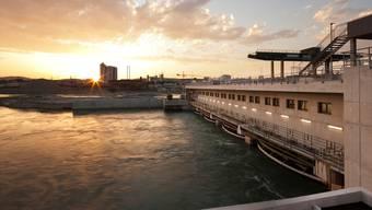 Der Rhein führte diesen Januar überdurchschnittlich viel Wasser.