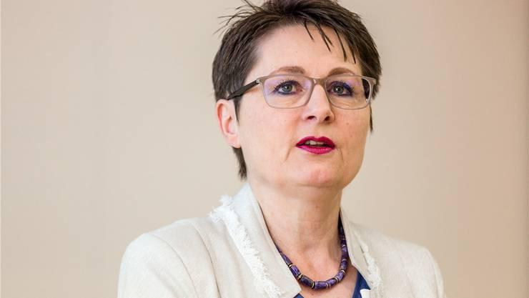 Regierungsrätin Roth hat einige prominente Abgänge in ihrem Departement zu verzeichnen.