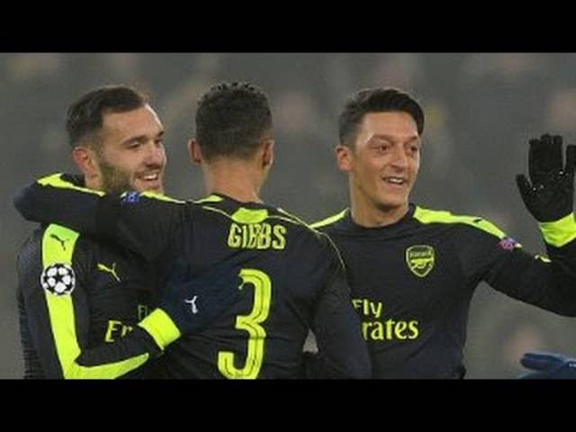 Basel – Arsenal, 6.12.2016 – alle Goals und Highlights