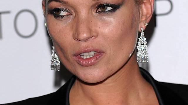 Kein Champagner, keine Kate: So scheint die Devise des Supermodels