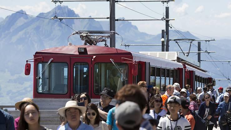 Die Schweiz hat auch im Juli zahlreiche Touristen aus dem Ausland angelockt. (Themenbild)