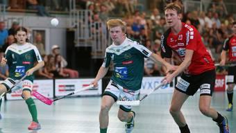 Gelungener Einstand: Neuling Joonas Pylsy begeistert in seinem ersten Saisonspiel für Meister Wiler-Ersigen.