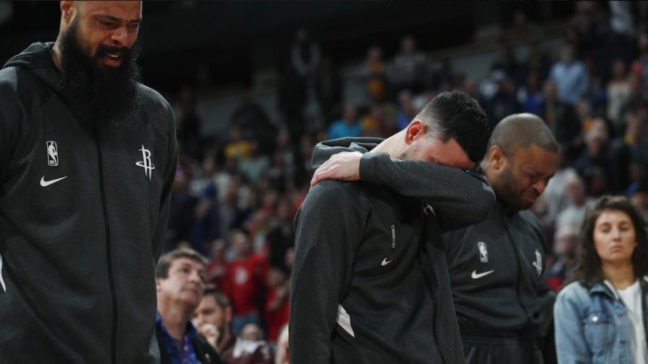 Houston-Rockets-Spieler trauern vor Spiel um Kobe Bryant