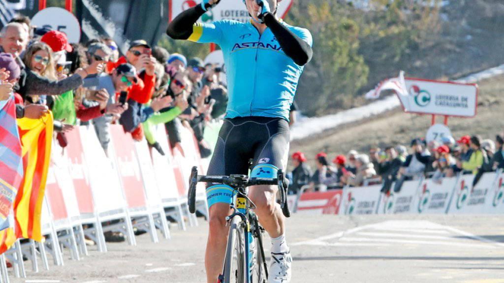 Miguel Angel Lopez war der grosse Sieger der 4. Etappe