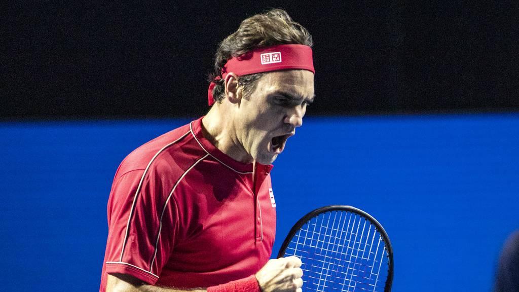 Roger Federer gewinnt zum zehnten Mal die Swiss Indoors