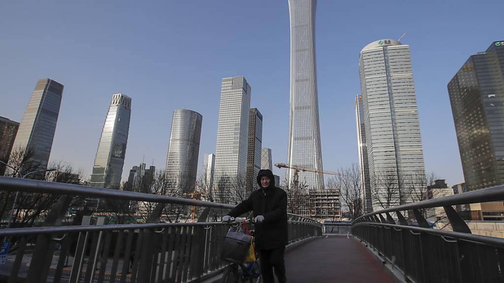 Chinas Wirtschaft wird im laufenden Jahr laut IWF weiter an Dynamik gewinnen. (Archivbild)