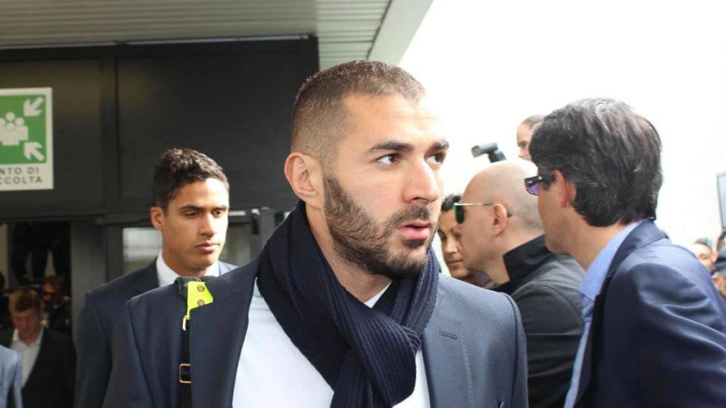 Die richterliche Kontrolle gegen Karim Benzema wurde aufgehoben