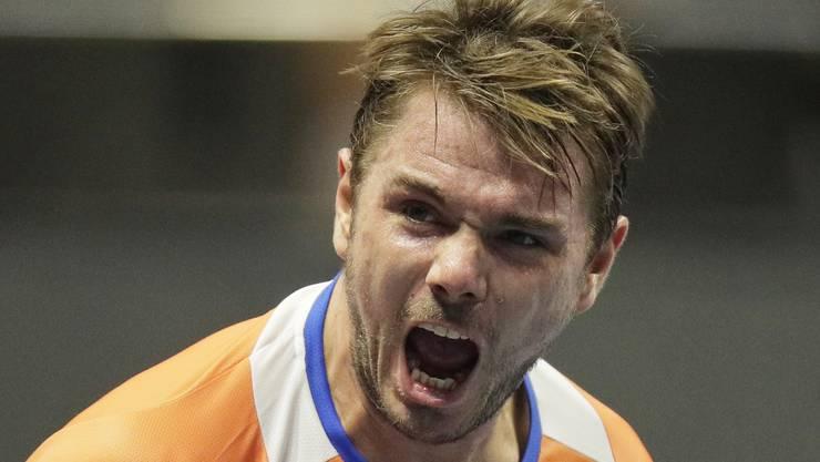 Stan Wawrinka strahlt vor dem Start der Australian Open viel Zuversicht aus.