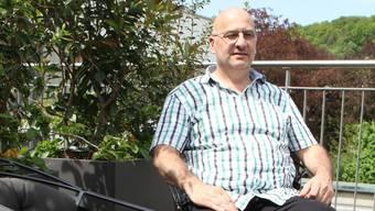Röbi Peter aus Gebenstorf arbeitet nebenberuflich und ehrenamtlich als Sterbebegleiter im Hospiz Stationär in Brugg.