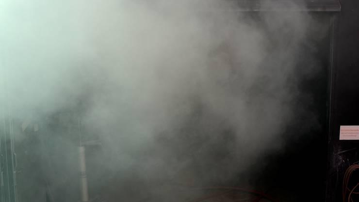 Feuerwehreinsatz wegen starker Rauchentwicklung. (Symbolbild)
