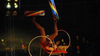 Vorpremiere des Circus GO in Herzogenbuchsee